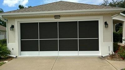 garage screens Florida
