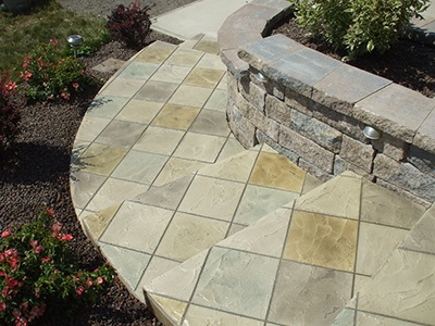 stamped concrete the villages